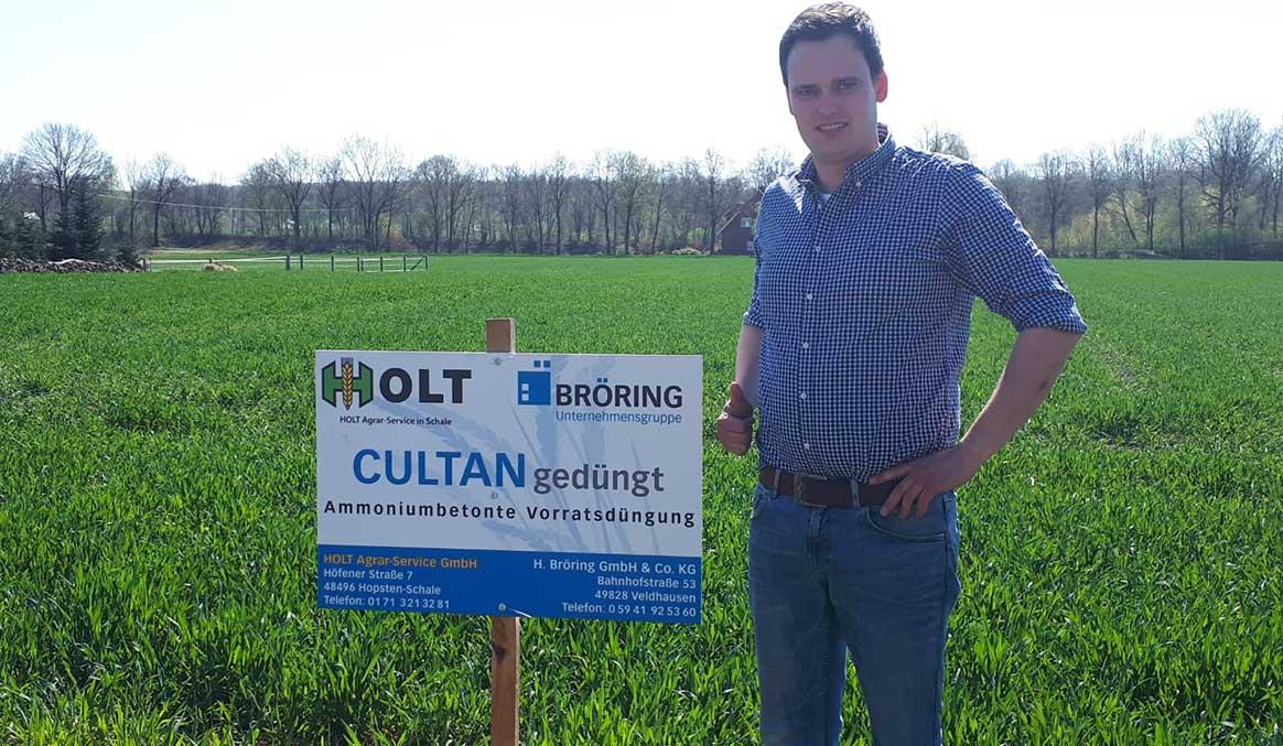 Bröring Agrar Pflanzenbau Düngung Cultandüngung Spitzenerträge Beratung