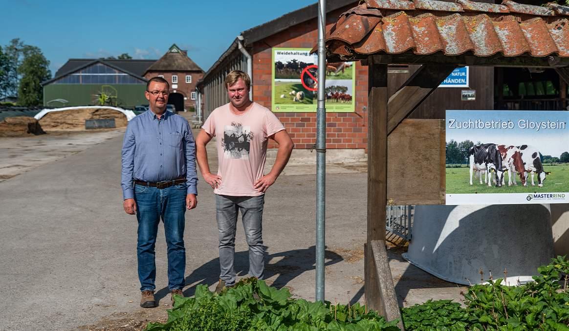 Bröring Mischfutter Dinklage Milchvieh Fütterung Rinderberatung Rowehl Gloystein Bova Forage service Milchleistung