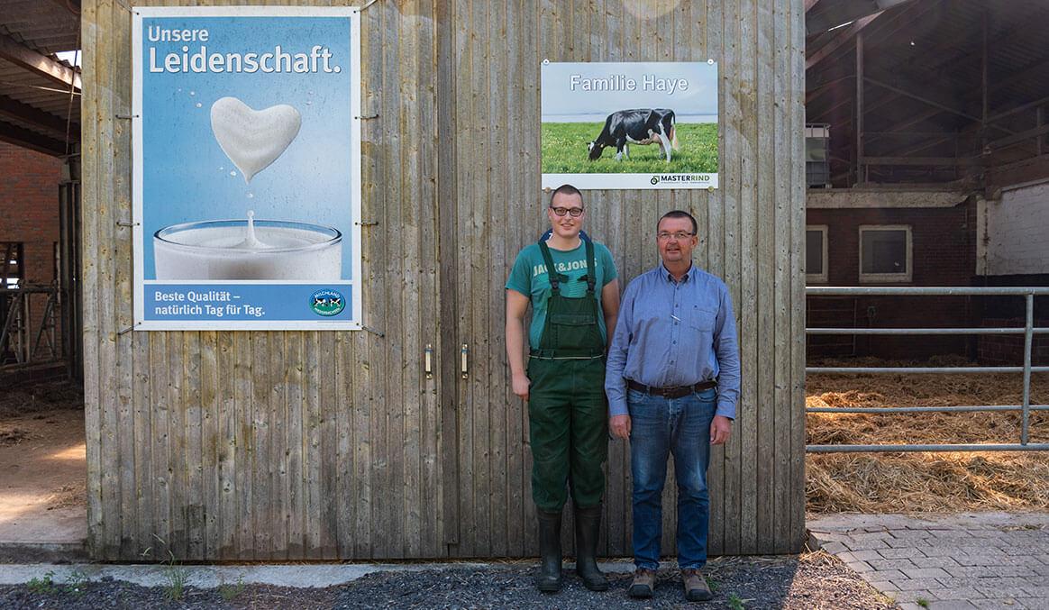 Hofschild Weidemilch, Molkerei Ammerland, Familie Haye, Wesermarsch