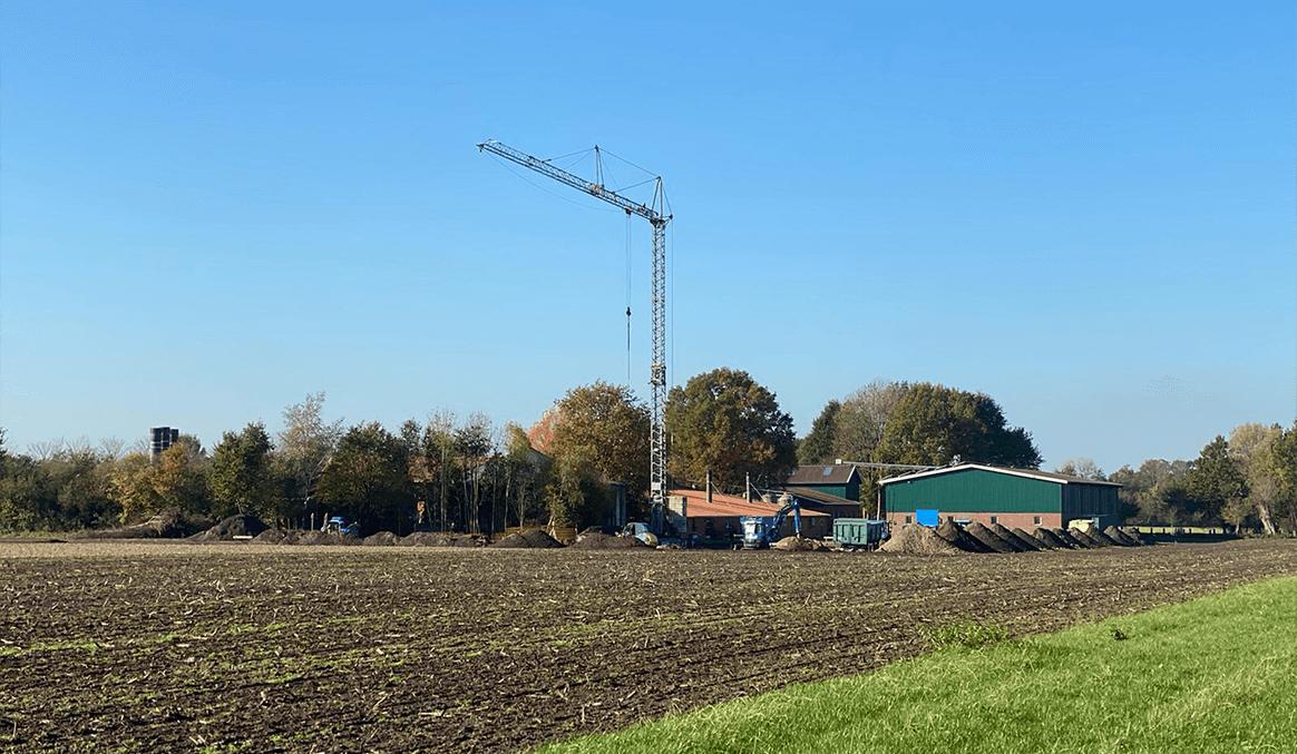 Xaletto System Baufortschritt Bröring Futtermittel Pressemitteilung